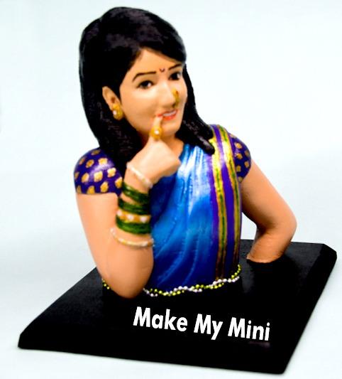3D Printing, 3D Miniatures, Online 3D Printed Miniature, 3D Replica Doll
