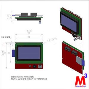 3D printer Smart LCD controller